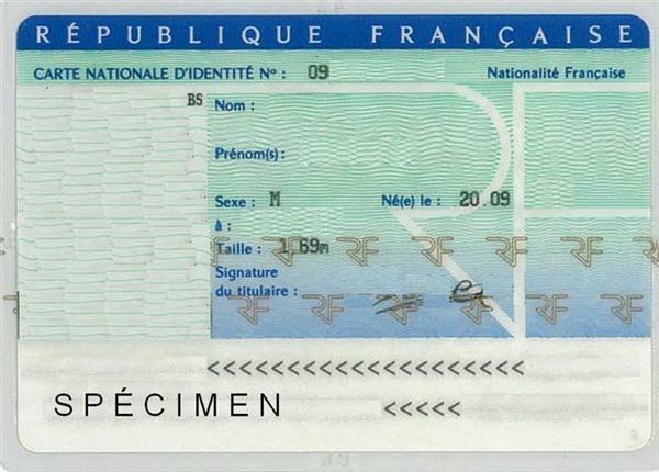 carte d identité vierge à remplir Carte d'identité | Site officiel de Feuquières en vimeu