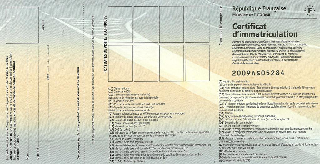 Certificat D Immatriculation Site Officiel De Feuquieres En Vimeu