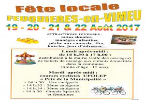 Fête Locale @ Place Jean Jaurès  | Feuquières-en-Vimeu | Hauts-de-France | France