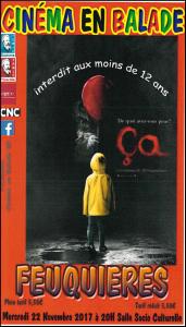 "Cine en Balade Film""ça"" @ Salle socioculturelle de Feuquières-en-Vimeu | Feuquières-en-Vimeu | Hauts-de-France | France"